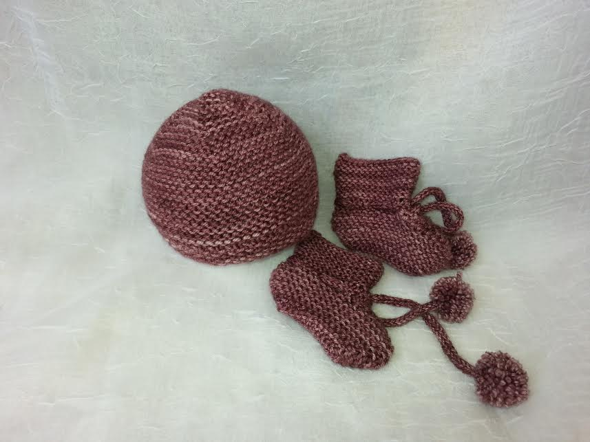 Wool Booties and Hat set  Handmade Locally   $49.95    Wants 1  purchased