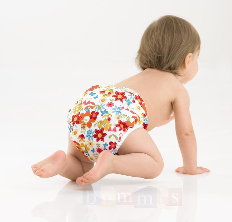 Bummis Diaper Cover in Flowers size Medium $14.45 Wants 1 purchased