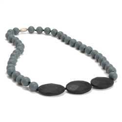 Chewbeads Greenwich Necklace in Grey   (Mom wears baby chews)   $36.50    Wants 1