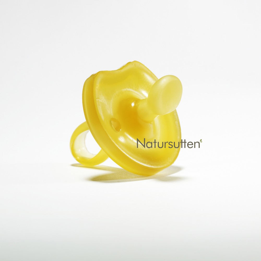 Natursutten Natural Rubber Orthodontic Pacifier - 0-6m $8.95 Wants 1 purchased