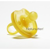 Natursutten Natural Rubber Rounded Pacifier - 0-6m $8.95 Wants 1