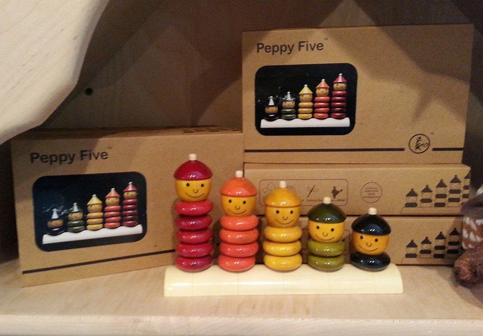 Peppy Five Counting/Stacking Toy    $36.00    Wants 1