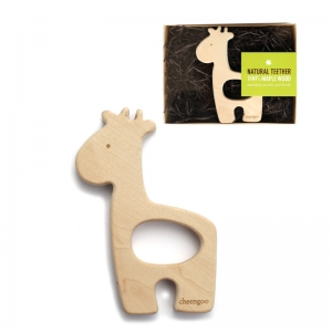 Cheengoo Maple Hardwood Giraffe Teether    $14.95    Wants 1