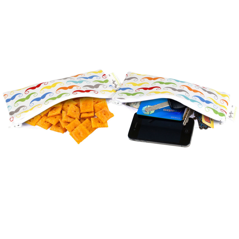 Itzy Ritzy Mini Snack Bags   2pk in Mustache     $12.95    Wants 1