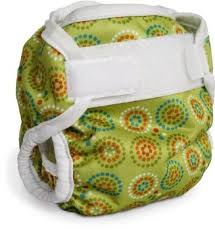 Bummis Super Brite Diaper Cover in Green - size small $12.95 Wants 1