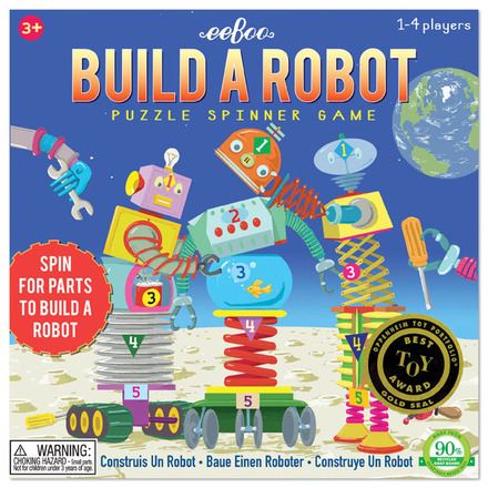 eeBoo Build A Robot Spinner Game    $17.95    Wants 1