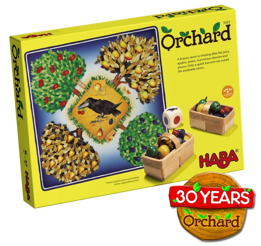 HABA Orchard Board Game    $44.95    Wants 1  purchased