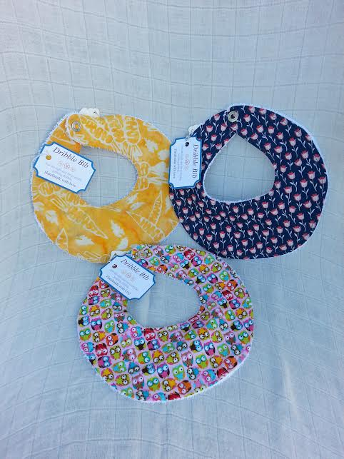 Dribble Bib locally handmade $7.50 Wants 3     3 purchased