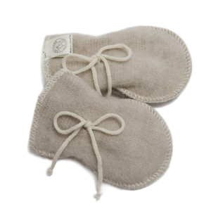 LanaCare Organic Merino Wool Winter Mitts in Sand size 0-4m $26.50 Wants 1