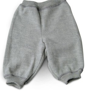 LanaCare Organic Merino Wool Pants in Grey 0-3m $60.50 Wants 1
