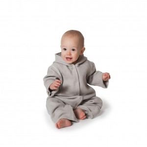 LanaCare Organic Merino Wool Hooded Winter Bunting in grey size 0-3m     $140.00    Wants 1