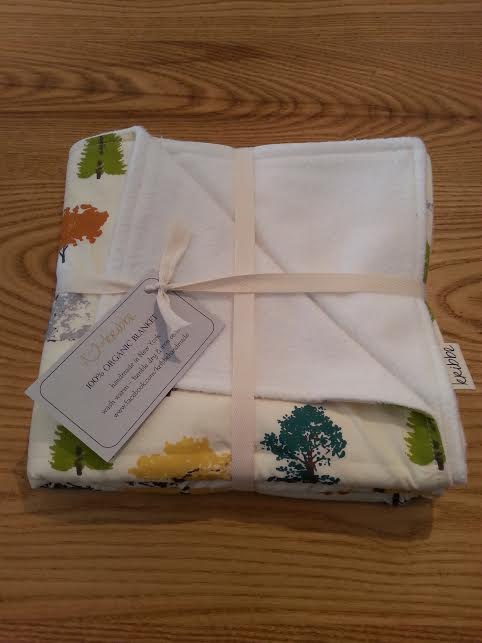 Kribbe Organic Blanket (any design) -Locally handmade   $54.95    Wants 1