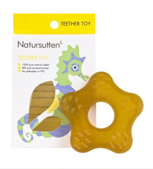 Natursutten Natural Rubber Teether Toy    $12.95    Wants