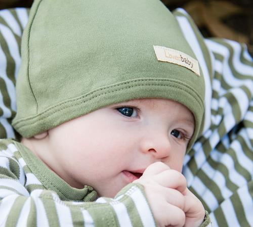L'ovedbaby   Organic Cap in Sage size 0-3m     $10.00    Wants 1  purchased