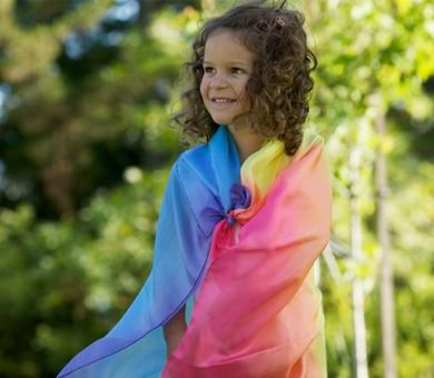 Sarah's Silks Enchanted Playsilk in Rainbow    $18.95    Wants 1purchased