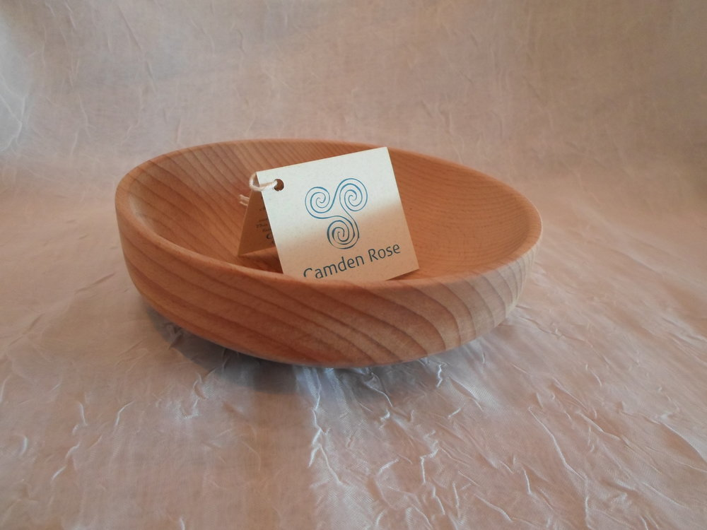 Camden Rose Cherry Wood Baby Bowl   Made in USA   $15.99    Wants 1  purchased