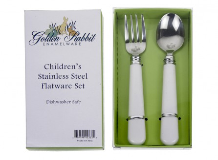 Golden Rabbit Toddler Spoon & Fork Set    $12.95    Wants 1  purchased