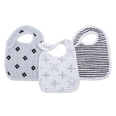 Aden and Anais Muslin Snap Bib 3pk in lovestruck    $20.00    Wants 1  purchased