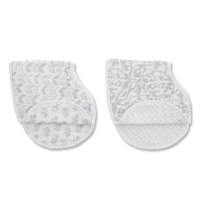 Aden and Anais Muslin Burp Bib 2pk (your choice of pattern)    $22-24.00    Wants 3