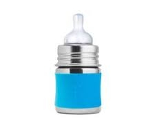 Pura Stainless 5oz Baby Bottle with Silicone Sleeve in Aqua    $14.95    Wants 1  purchased