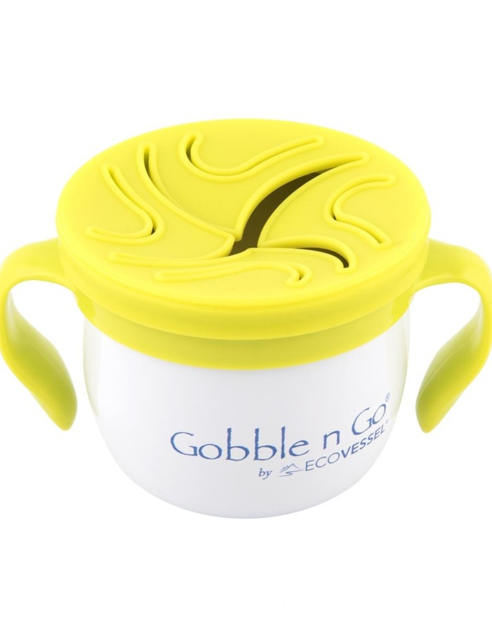 Stainless Gobble-N-Go Snack Cup with lid $21.95 Wants 1