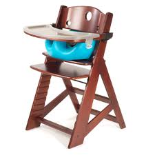 Keekaroo Mahogany Height Right High Chair with Aqua Infant Insert    $239.95    Wants 1