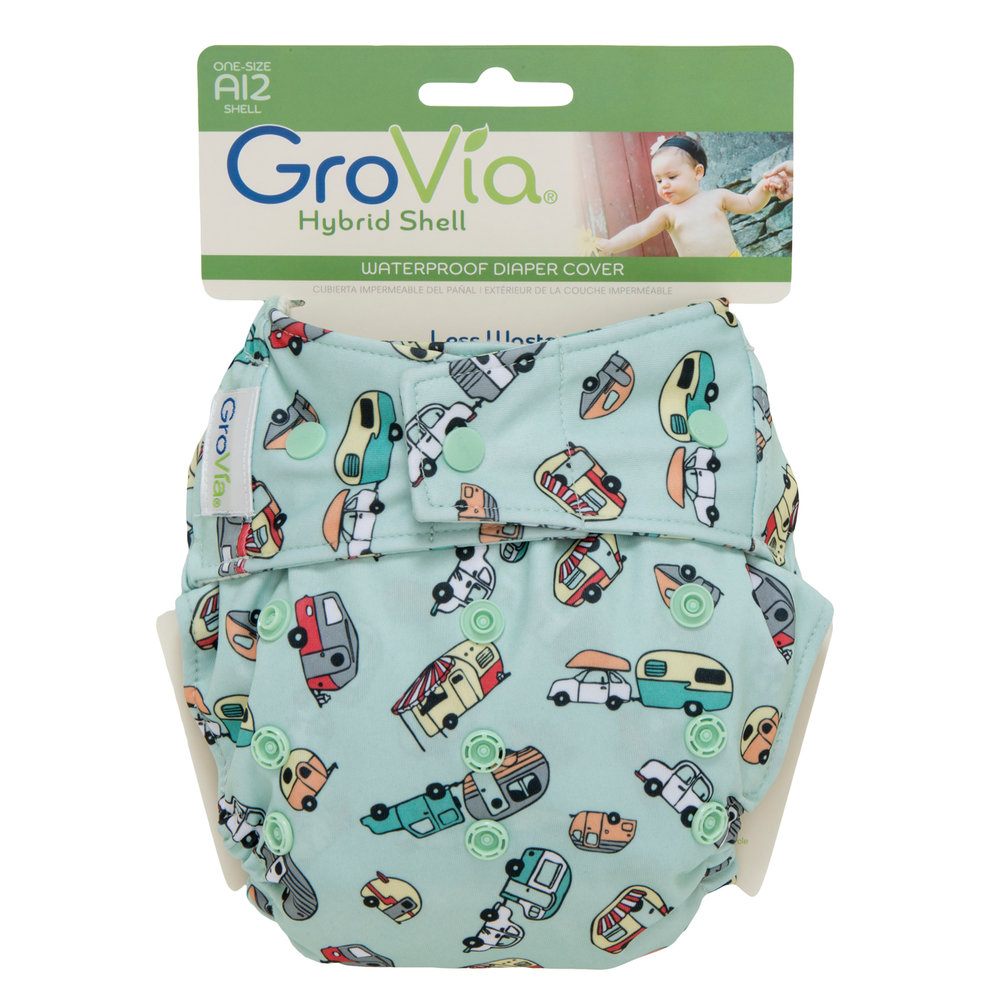 GroVia One Size Snap Diaper Cover in Adventure    $16.95    Wants 1