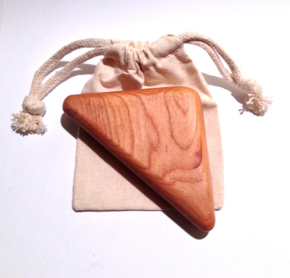 AE Wooden Toys Hardwood Baby Rattle    (locally handmade)   $17.95    Wants 1