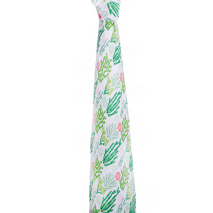 Aden & Anais Muslin Single Swaddle in Cactus    $15.95    Wants 1   PURCHASED