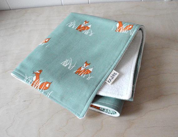 Kribbe Organic Baby Blanket in Fox  - Locally Handmade   $54.95    Wants 1
