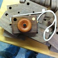 AE Wooden Toys Hardwood Camera  - Locally Handmade   $17.95    Wants 1