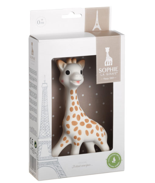 Sophie Giraffe Natural Rubber Teether    $27.95    Wants 1