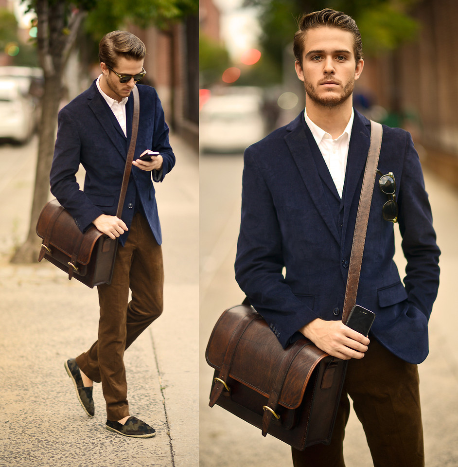 lookbookdotnu :      Corduroy   (by  Adam Gallagher )     Fall for men <3