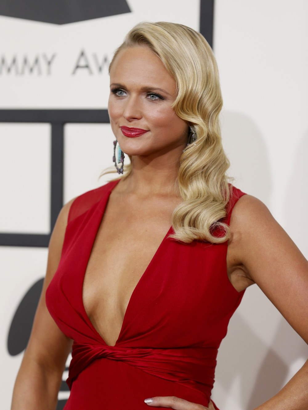 Miranda Lambert, 56th Grammy's Red Carpet
