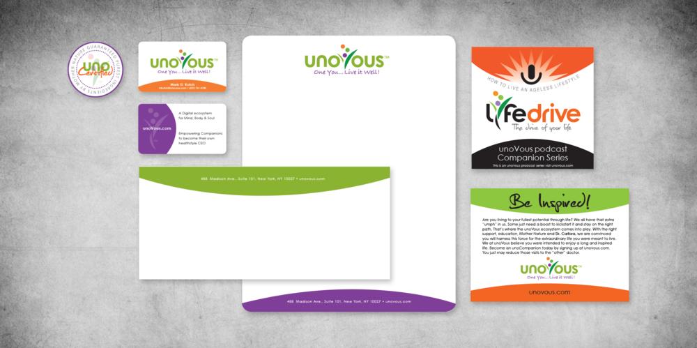 unovous branding