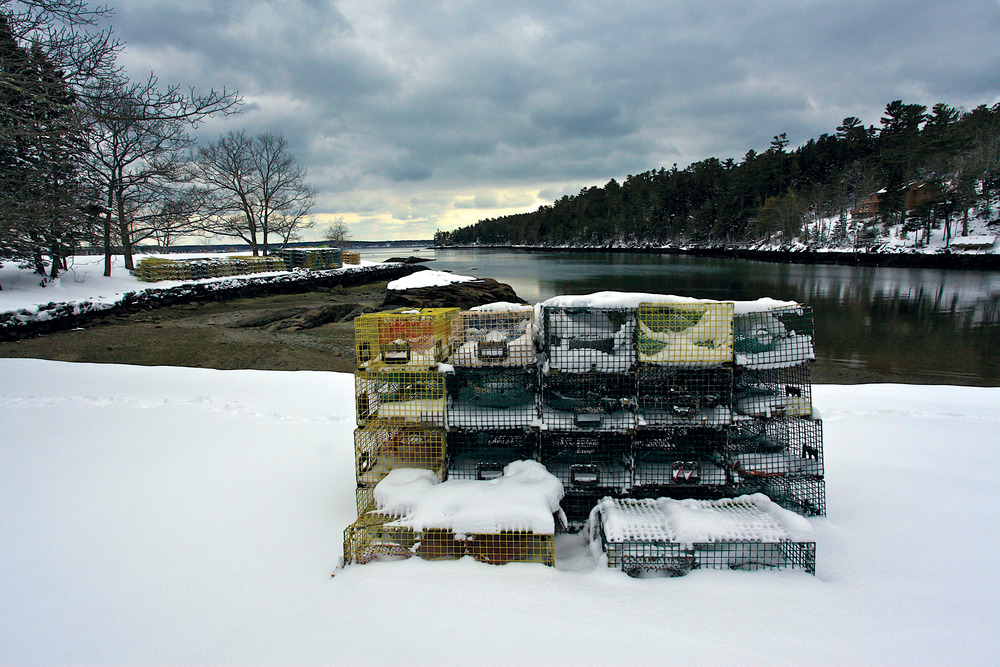 March | Barrett Park, Boothbay Harbor