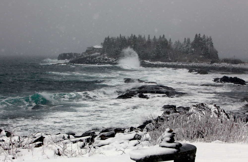February | Ocean Island, East Boothbay