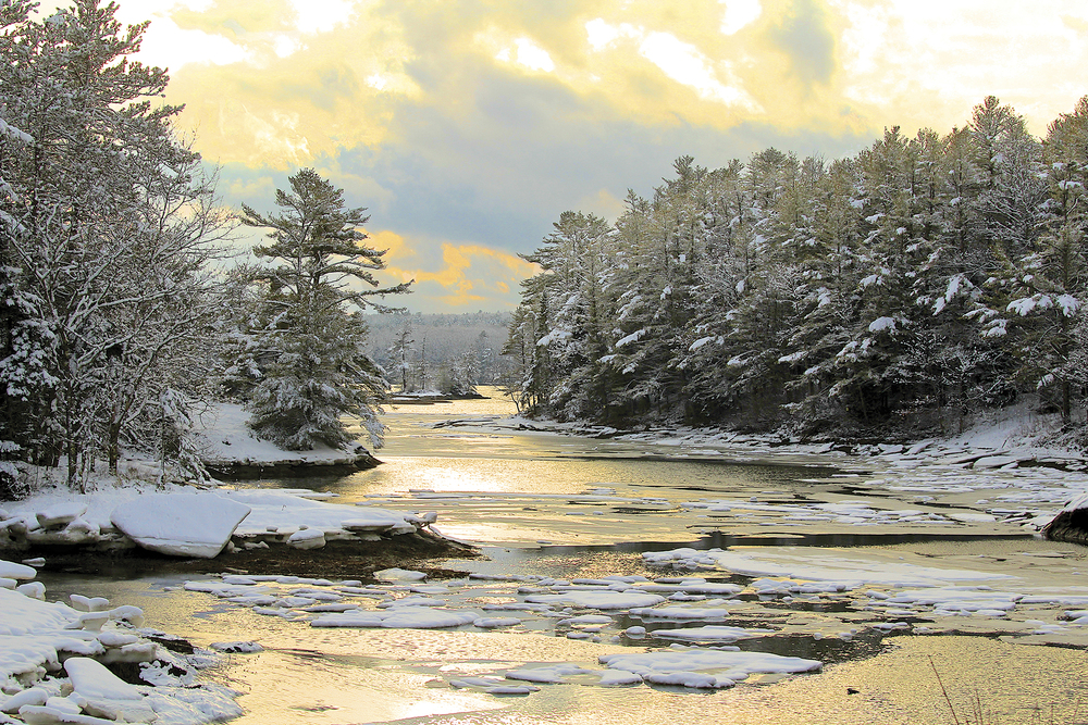 January: Boothbay