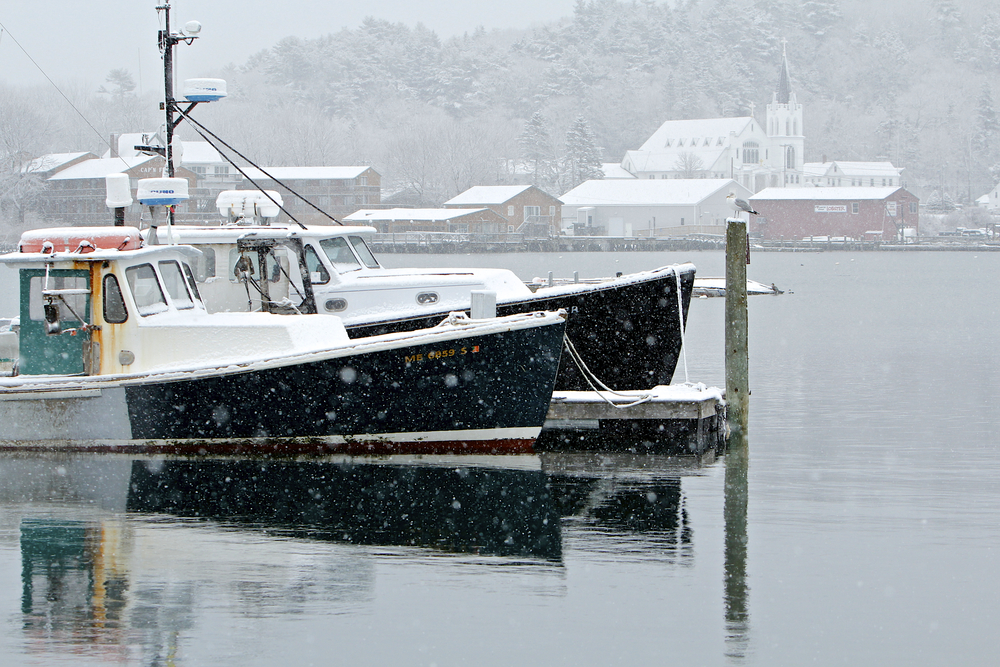 February: Boothbay Harbor