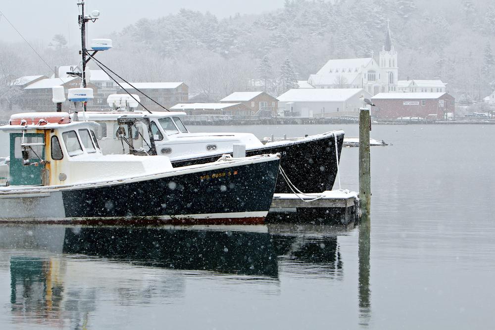 February: Boothbay Harbor