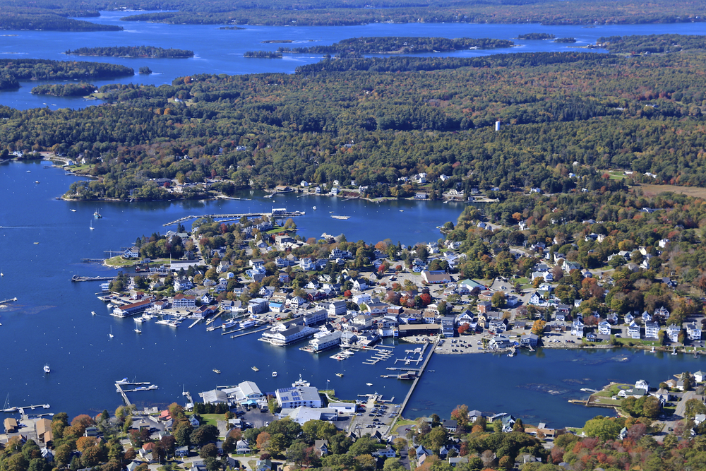 October: Boothbay Harbor