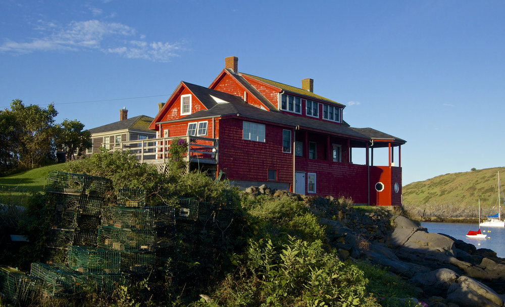 September: Monhegan