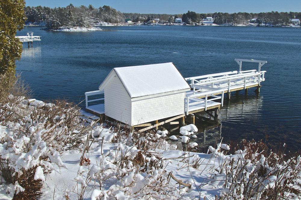 February: Barters Island