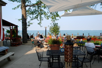 Located Just Minutes From Downtown The Waterfront Café Is Located