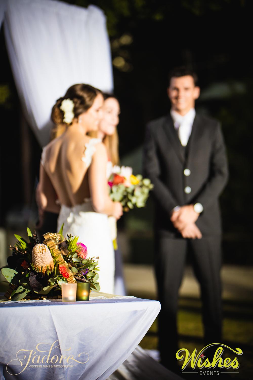 Paradise Country Wedding Ceremony