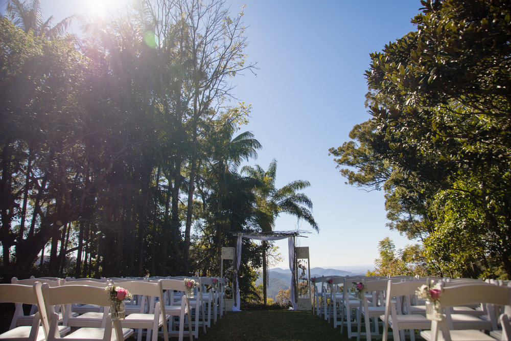 Wedding Ceremony at St Bernards hotel
