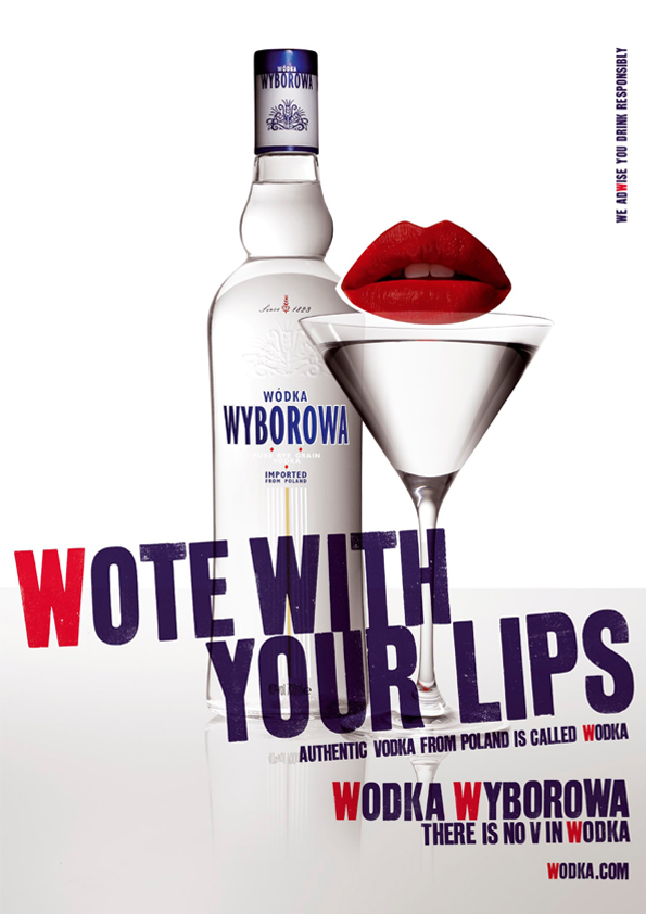 Wyborowa Wodka design and art direction
