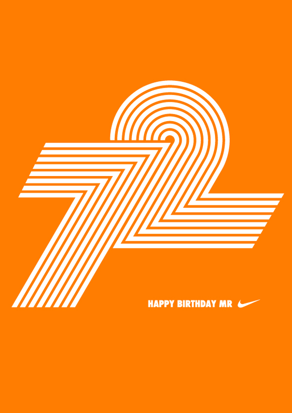 Phil Knight's Birthday card