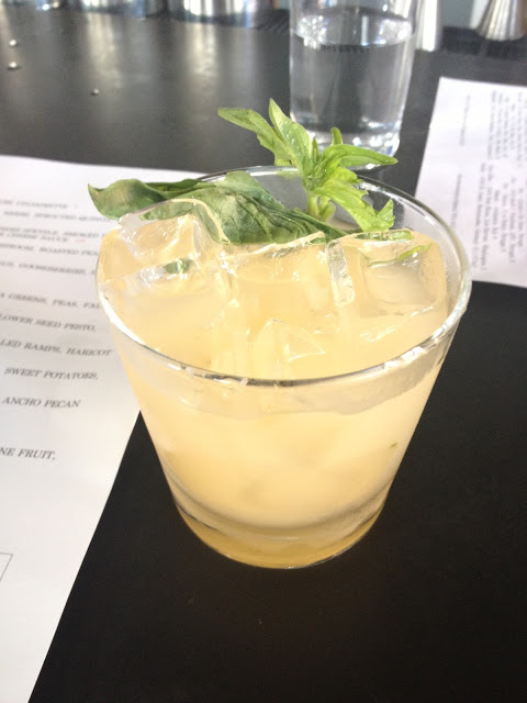 Basil Grapefruit Cocktail