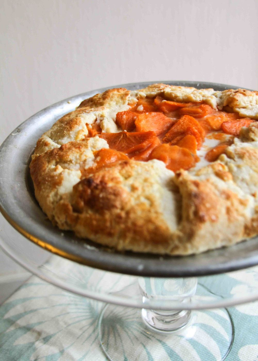 Persimmon and Ricotta Galette